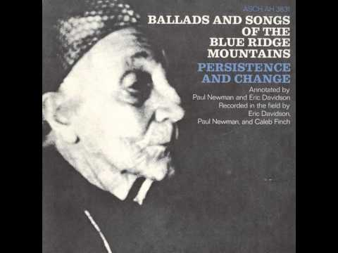 Ballads and Songs of the Blue Ridge Mountains