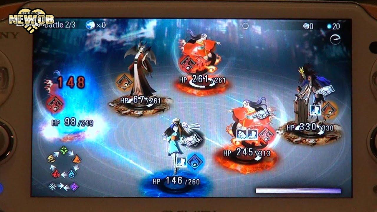 Ps Vita All Games : Ps vita destiny of spirits tough battles youtube