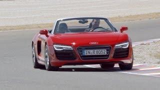 Audi R8 Spyder V10 2013 Videos