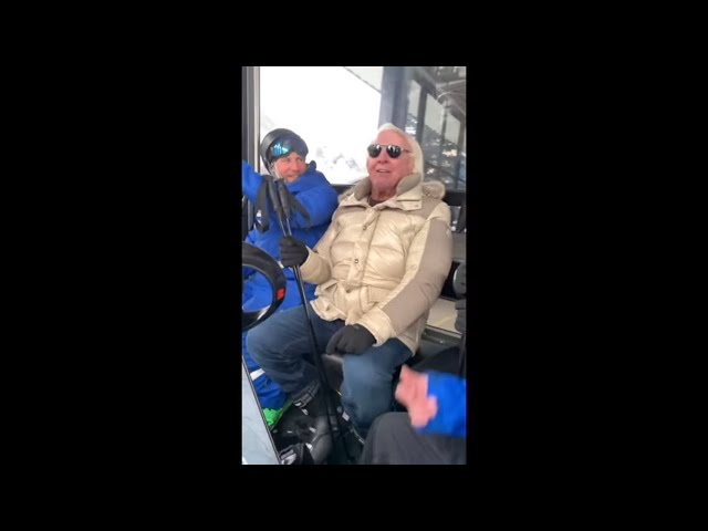 Ric Flair Is A Ski Expert