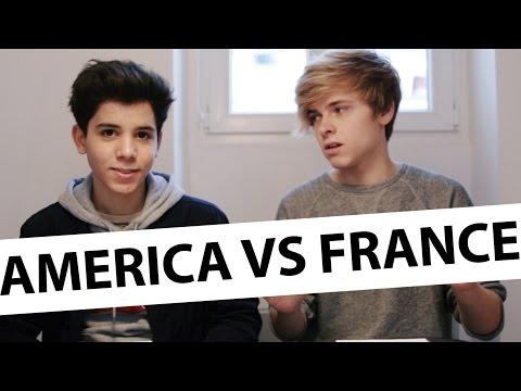 America vs France