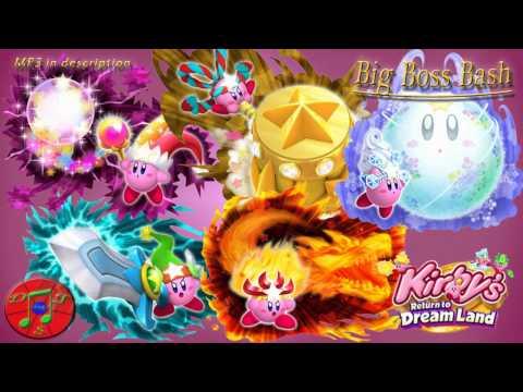 Kirby Remix - Big Boss Bash [Boss Medley]