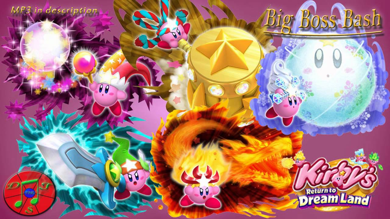 Kirby Remix - Big Boss Bash [Boss Medley]
