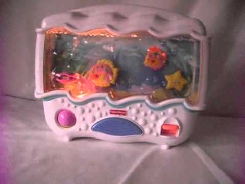 Fisher Price Ocean Wonders Aquarium Crib Toy Model 73545