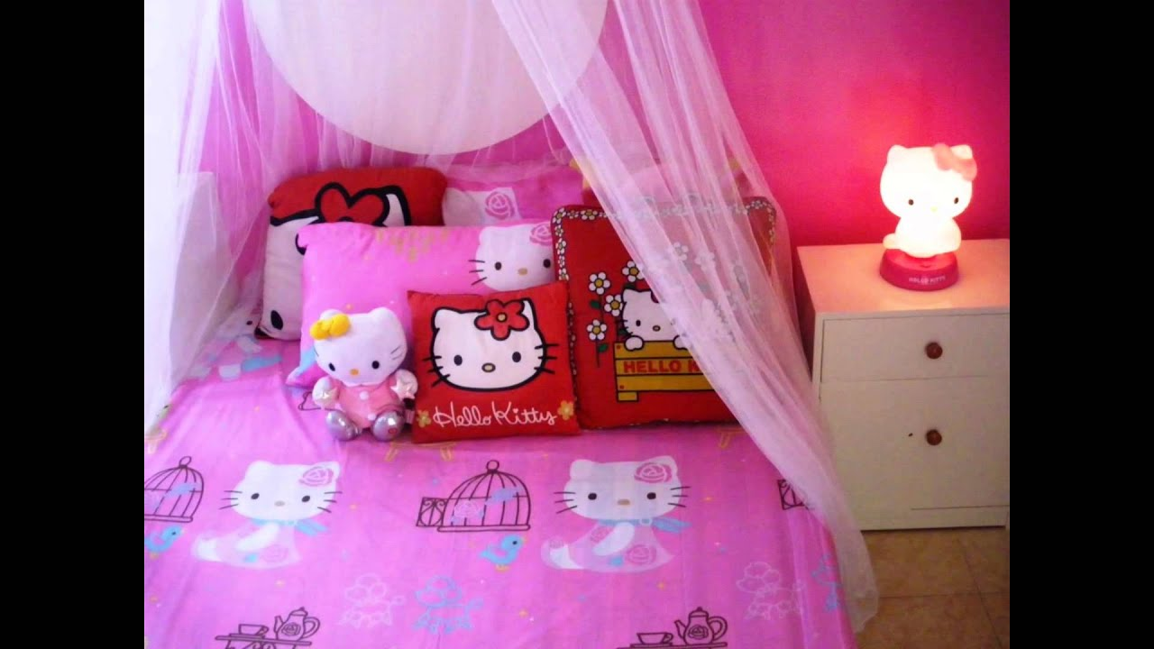 Superb Hello Kitty Bedroom Set