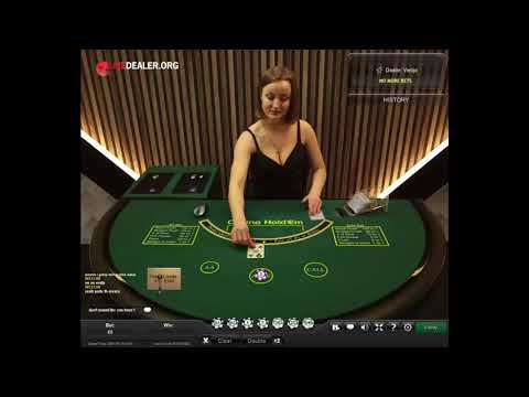 Playtech's Live Dealer Casino Hold'em Poker