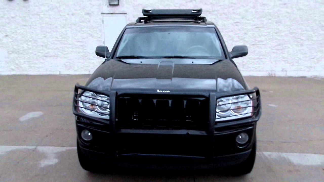 2007 Jeep Grand Cherokee LAREDO   LEATHER   SUNROOF   RACK   GRILL
