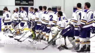 Worcester State Ice Hockey vs. Salem State Highlights