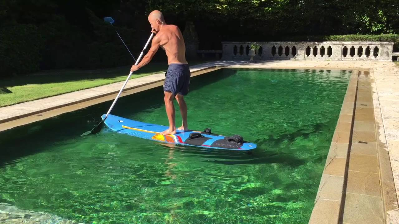 Turning a Windsurfer into a SUP!