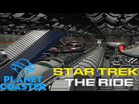 Star Trek : The Ride - Planet Coaster