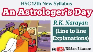 Download lagu 12th English New Syllabus   An Astrologer's Day by R. K. Narayan class 12 in Marathi  