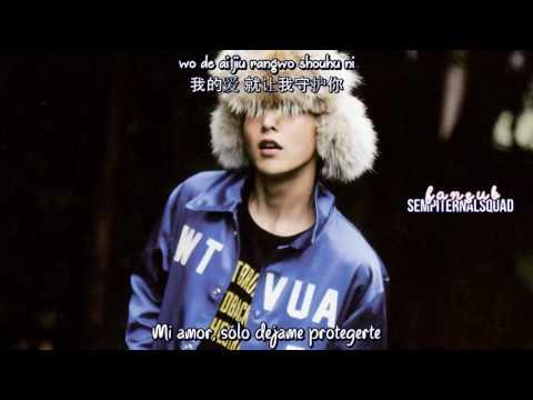 EXO M - Promise (Sub Español - Chinese - Pinyin) HD