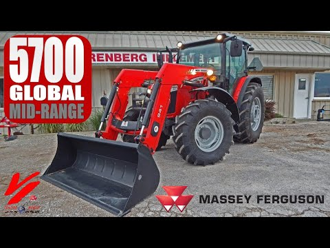 Massey Ferguson 5700 Global Series: Product Introduction and Demo