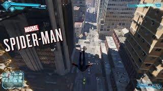 Marvel Spider-Man (PS4) New Swinging Footage (PSX 2017)