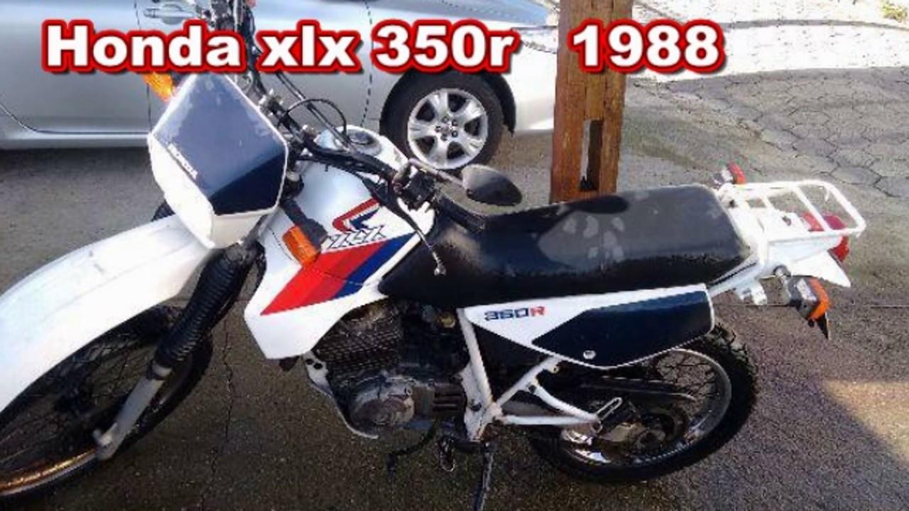 Honda Xl E Xlx 350r Evolucao E Ficha Tecnica Com Top Speed
