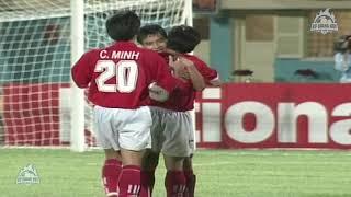 Bán kết Cúp Tiger 98   Việt Nam - Thái Lan   Chiến thắng lịch sử 3/9/1998   BLV Quang Huy