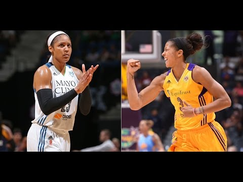 Marquee Matchup: Maya Moore vs. Candace Parker