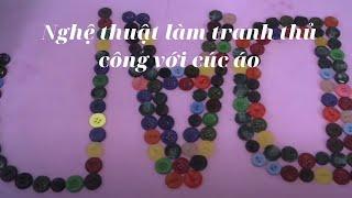 Bạch Yến Vlog Mô phỏng Trang trí Tranh Cúc áo Nghệ thuật  dành tặng cho  ông bà 2021