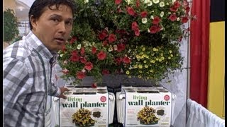 Grow A Vertical Wall Garden With New Products At The 2013 National Hardware Show