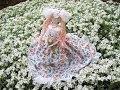 Весна в образе куклы. Кукла для конкурса \  Papier-mache doll \ Handmade doll