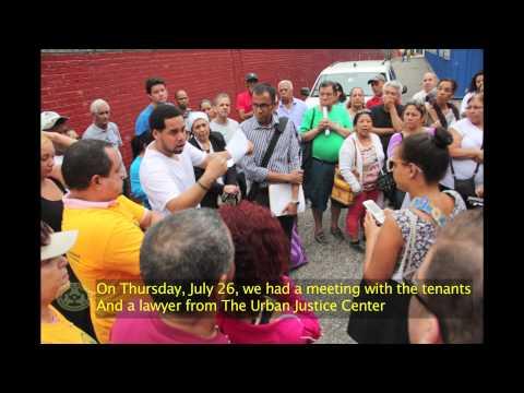 Fuego desplaza a inquilinos de West Harlem -- Fire Displace Tenants of West Harlem