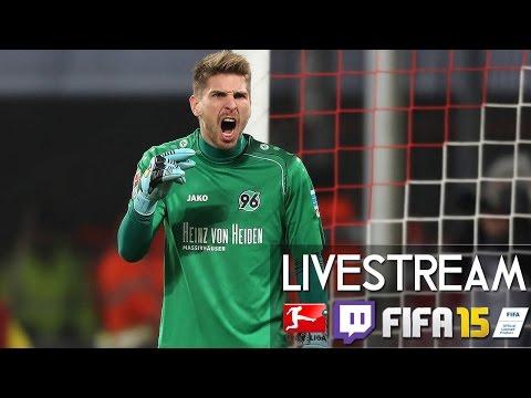 HANNOVER 96 1 : 1 VFB STUTTGART - 23. Spieltag | Prognosen [FIFA 15 LIVESTREAM]