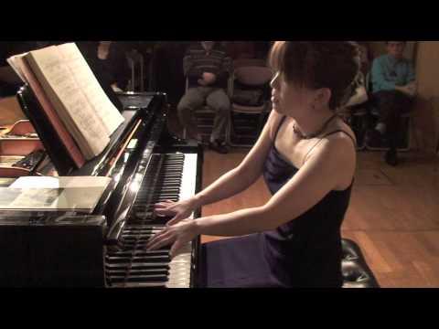 """Beethoven Piano Sonata No.8 """"Pathétique"""" -- Azusa Ichijo"""