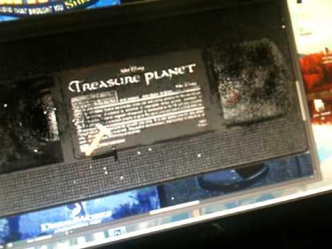 destroying vhs tapes i hate epi 4 broken treasure planet