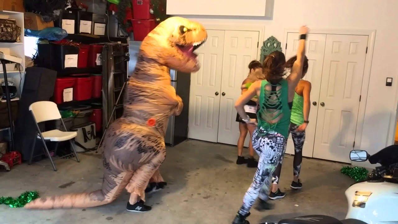 pinehurst trex dancing zumba moves  youtube