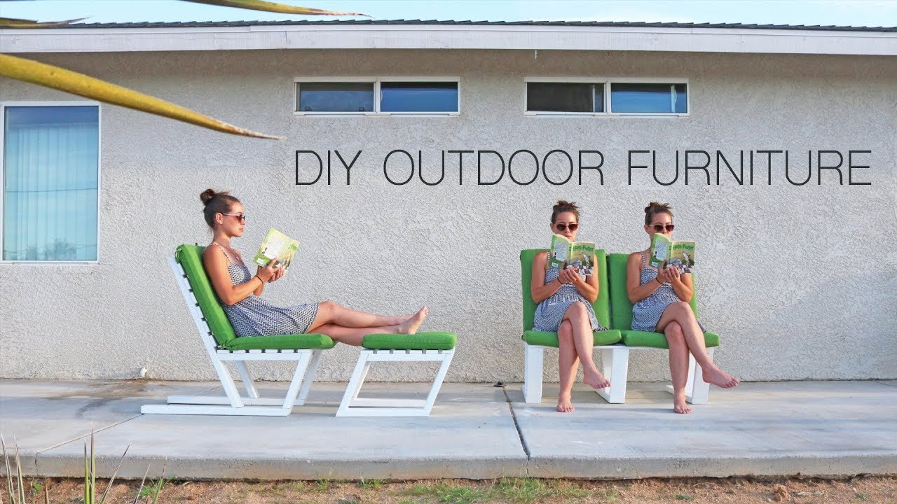 Diy 2x4 furniture modern outdoor furniture