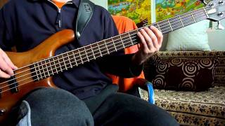 Adele - Rolling In The Deep (bass cover)[with TABS]
