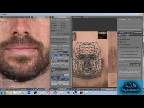 PES 2013 Tutorial Facemaking By L.G.R