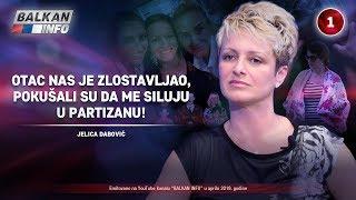 INTERVJU: Jelica Dabović - Otac nas je zlostavljao, pokušali su da me siluju u Partizanu (18.4.2019)