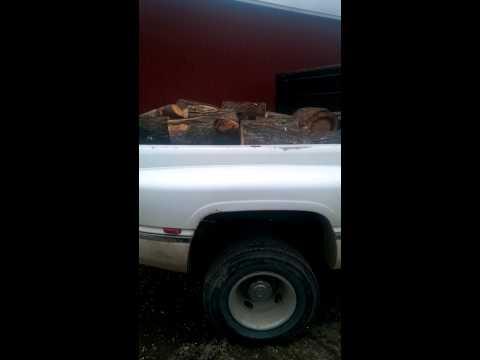 96 12 valve hauling wood