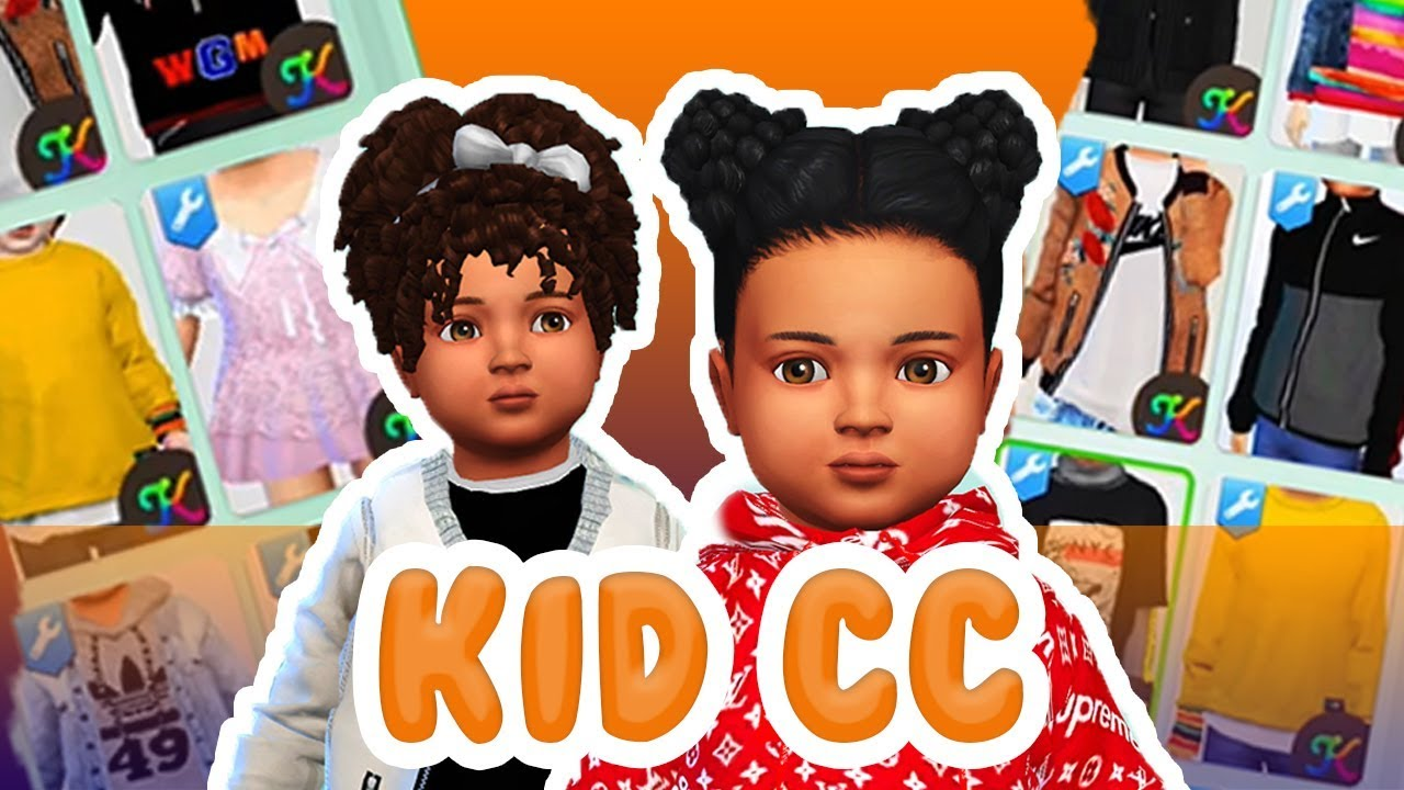 CC & CHILL (Toddlers and Kids)// Sims 4 Custom Content ...Korean Toddler Cc Sims 4