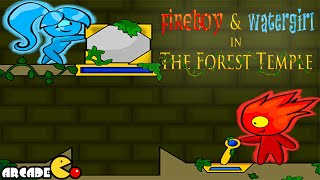 Fireboy And Watergirl - The Forest Temple Walkthrough All Levels