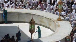 Khane Kaaba Hateem Cleaning Video