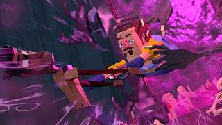 Minecraft   Hello Neighbor - SAVING THE NEIGHBOR! (Secret Portal Ritual)