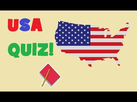 American Geography QUIZ  - Very Hard Test!