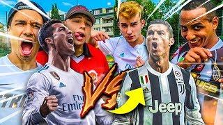 CRISTIANO RONALDO JUVENTUS TURIN FUßBALL CHALLENGE!!