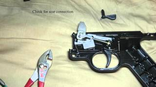 disassembly of the gsg stg 44 and trigger adjustment