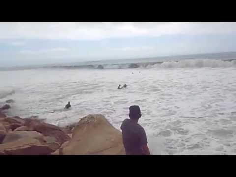 cuando se enoja el mar