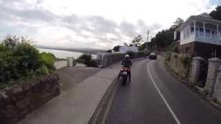 Motorbike Cruising around Dublin Bay