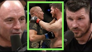 Joe Rogan | Michael Bisping Fought GSP with Injured Ribs