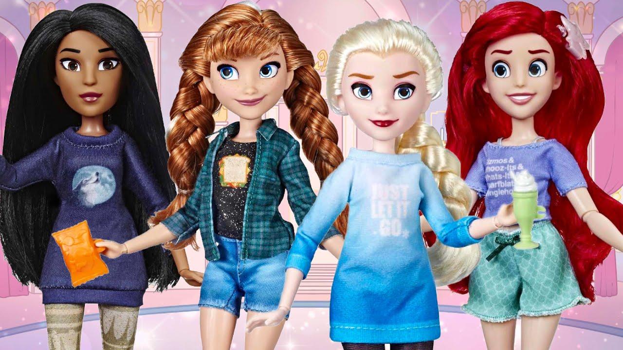 Disney Wreck It Ralph Breaks the Internet Comfy Princesses Pocahontas and Ariel