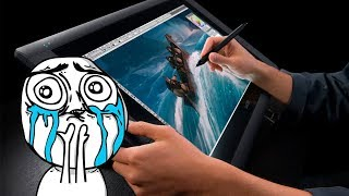 Как рисовать при помощи графического планшета в Adobe Illustrator