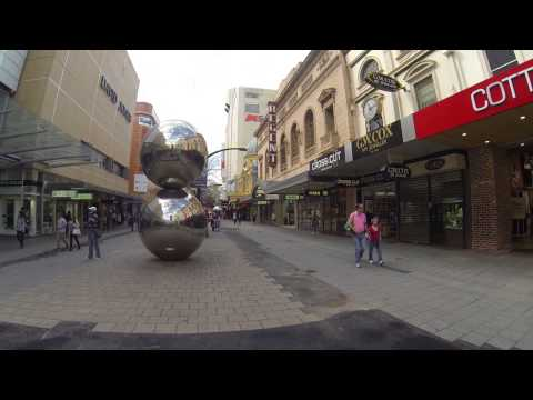 Rundle Mall Adelaide's prime shopping district
