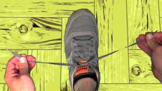 How To Tie Your Shoe - Left-handed - The Kid Show