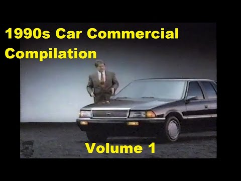 1990s Car TV Commercials Compilation Volume 1