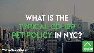 What Is the Typical Co-op Pet Policy in NYC? (2019) | Hauseit® New York City